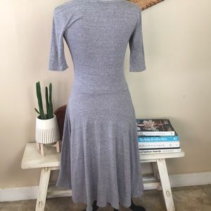 LuLaRoe Dresses - Lularoe Gray Nicole Dress